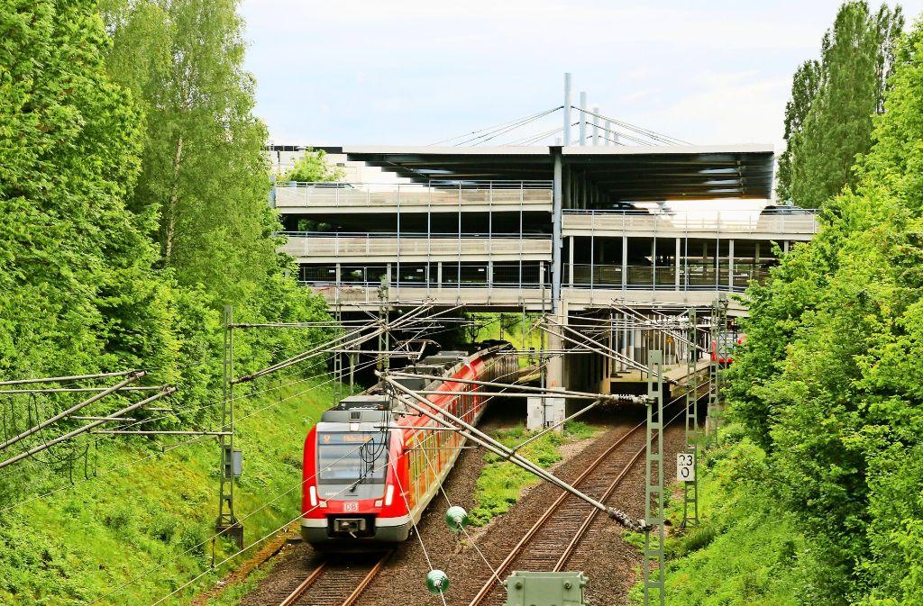 Die Strecke bei Echterdingen soll künftig nicht allein den S-Bahnen vorbehalten sein. Foto: Thomas Krämer