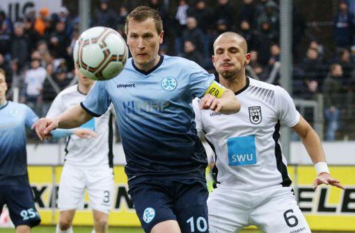 Stuttgarter Kickers unterliegen gegen Hessen Kassel