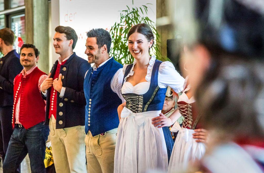 Gute Aussichten: Jetzt gibt es eine schwäbische Tracht. Foto: Lg/ Rettig