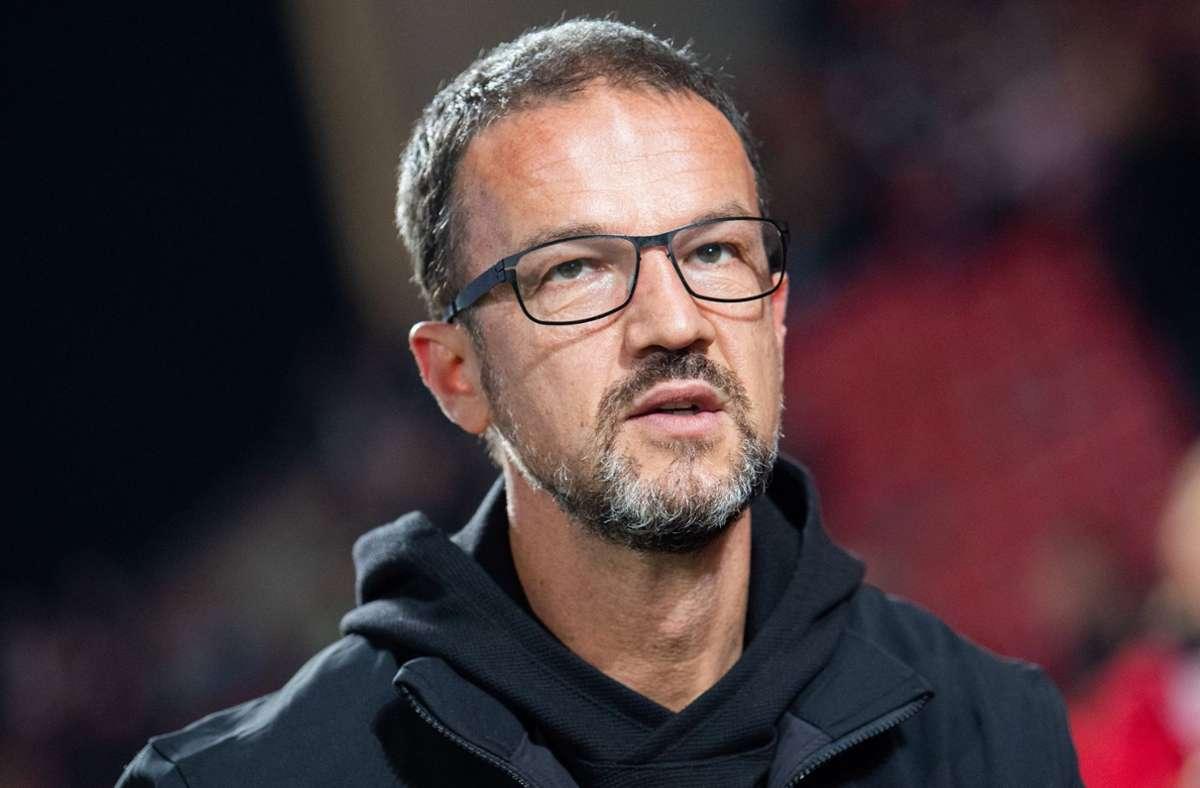 Fredi Bobic  wurde die vorzeitige Vertragsauflösung bei Eintracht Frankfurt verweigert.  (Archivbild) Foto: dpa/Tom Weller