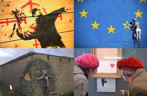 Acht Coups des Street-Art-Künstlers