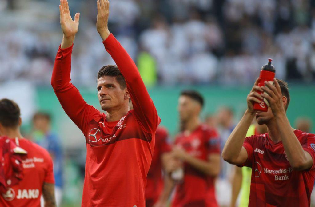 Wann kehrt Mario Gomez beim VfB Stuttgart ins Teamtraining zurück? Foto: dpa