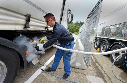 Brandbriefe gegen die Förderung von Gas-Lkw