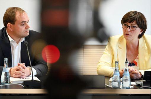 SPD-Chefin Esken bangt um KSK-Existenz