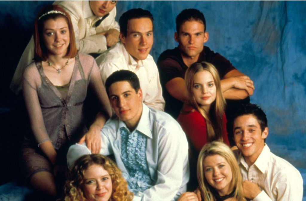 """Der Cast aus """"American Pie"""". Einige der Schauspieler sind noch immer gut im Geschäft. Foto: Glomex/Promiflash"""