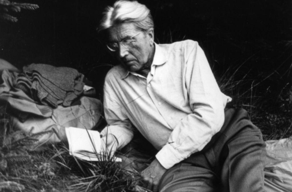 Hermann Lenz (1913–1998) Foto: Suhrkamp Verlag (Isolde Ohlbaum)