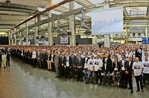 VW-Chef  Müller kündigt schwere Zeiten an