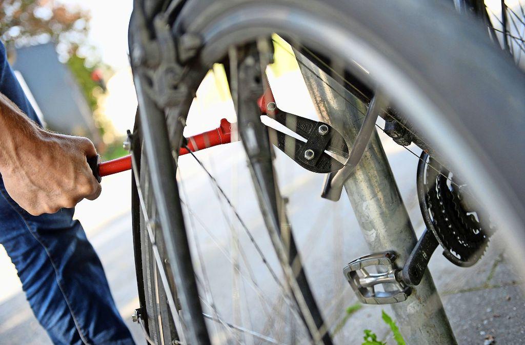 Fahrraddiebstähle nehmen in Renningen zu. Foto: dpa