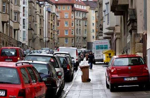 Die Parkplatzsituation an der Reinsburgstraße ist teilweise untragbar. Foto: Zweygarth
