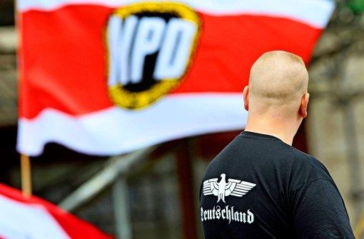 Länder vergleichen   NPD mit Hitlers Partei