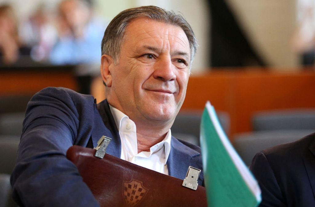"""Zdravko Mamic gilt als """"Pate"""" des kroatischen Fußballs. Foto: HINA"""