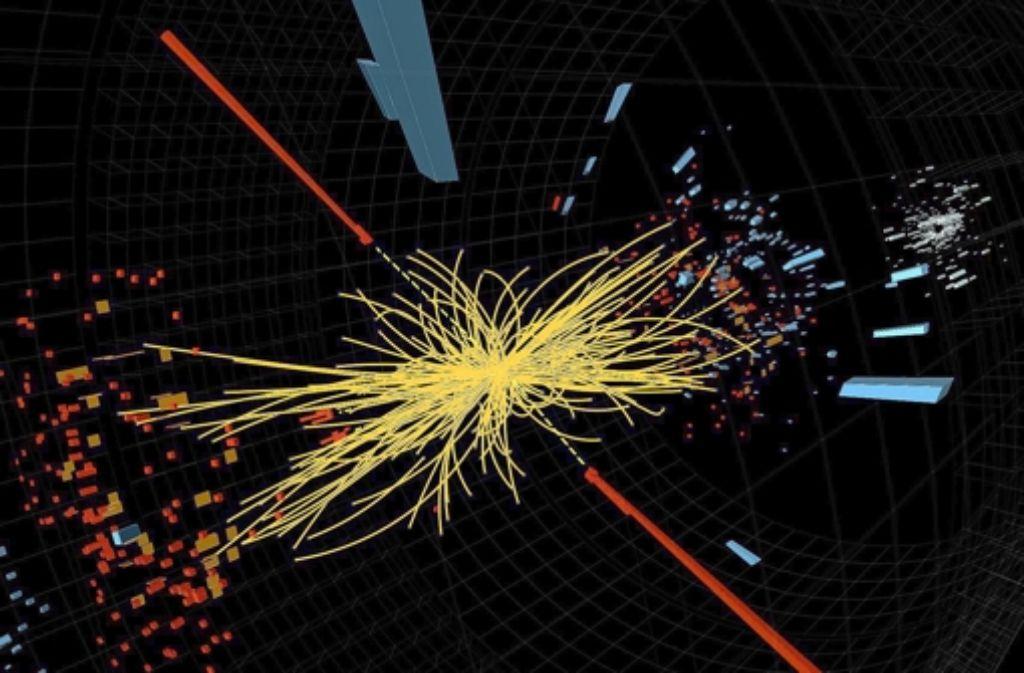 Auf der Suche nach dem Higgs-Teilchen schießt man Protonen aufeinander. Foto: Cern