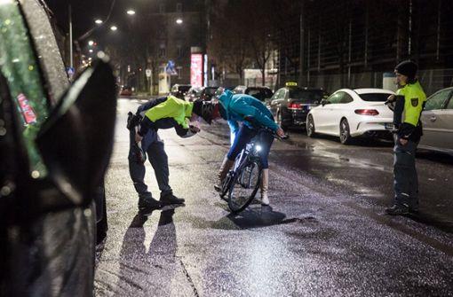 Fahrradpendler gehen auf Nummer sicher