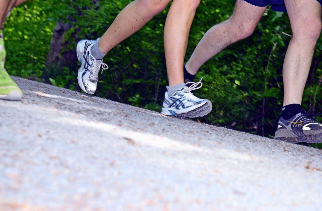 1772 Läufer gingen dieses Jahr an den Start fürs Kinderhospiz. Foto: