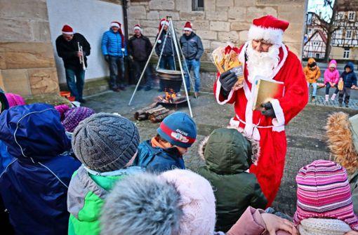 Der Nikolaus ist noch eine Respektsperson