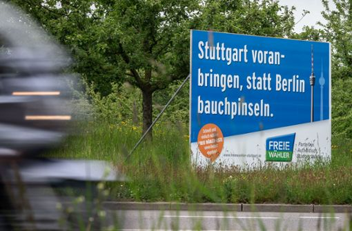 Was  die Wahlplakate sagen und was sie verheimlichen