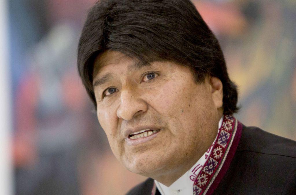 Evo Morales' Ruf ist inzwischen ziemlich ramponiert. Foto: AP/Juan Karita