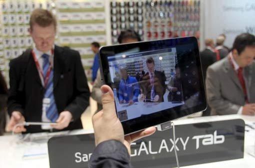 Samsung will geändertes Tablet verkaufen