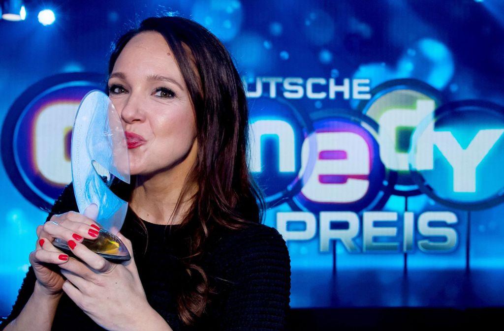 Carolin Kebekus ist der Jury des Deutschen Comedypreises zufolge die beste deutsche Komikerin (Archivfoto). Foto: dpa