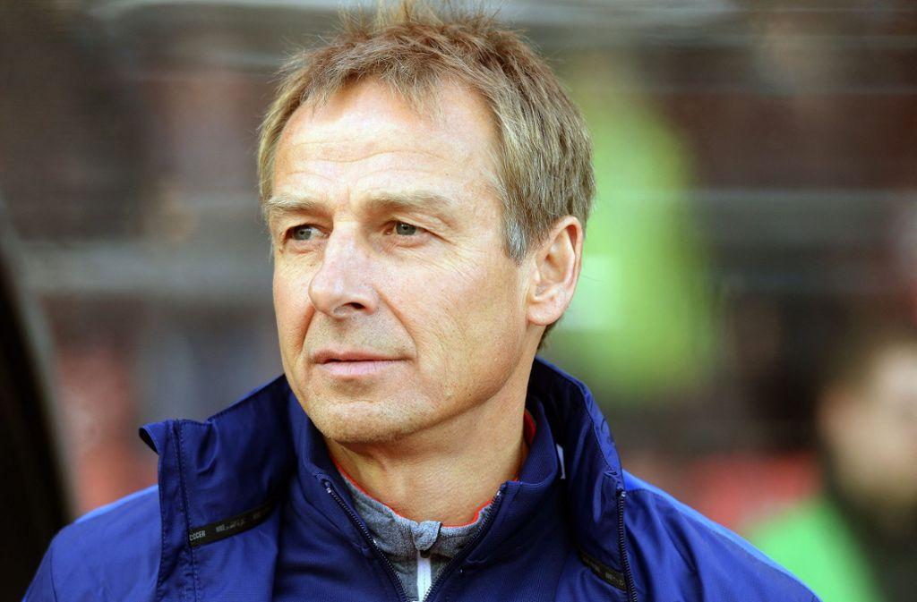 Jürgen Klinsmann als VfB-Trainer? Andere Lösungen scheinen da wahrscheinlicher. Foto: KEYSTONE