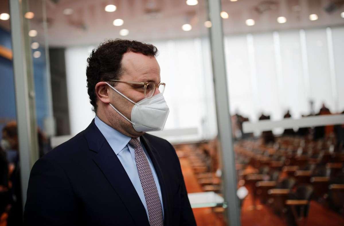 Bundesgesundheitsminister Jens Spahn (CDU). (Archivbild) Foto: AFP/HANNIBAL HANSCHKE