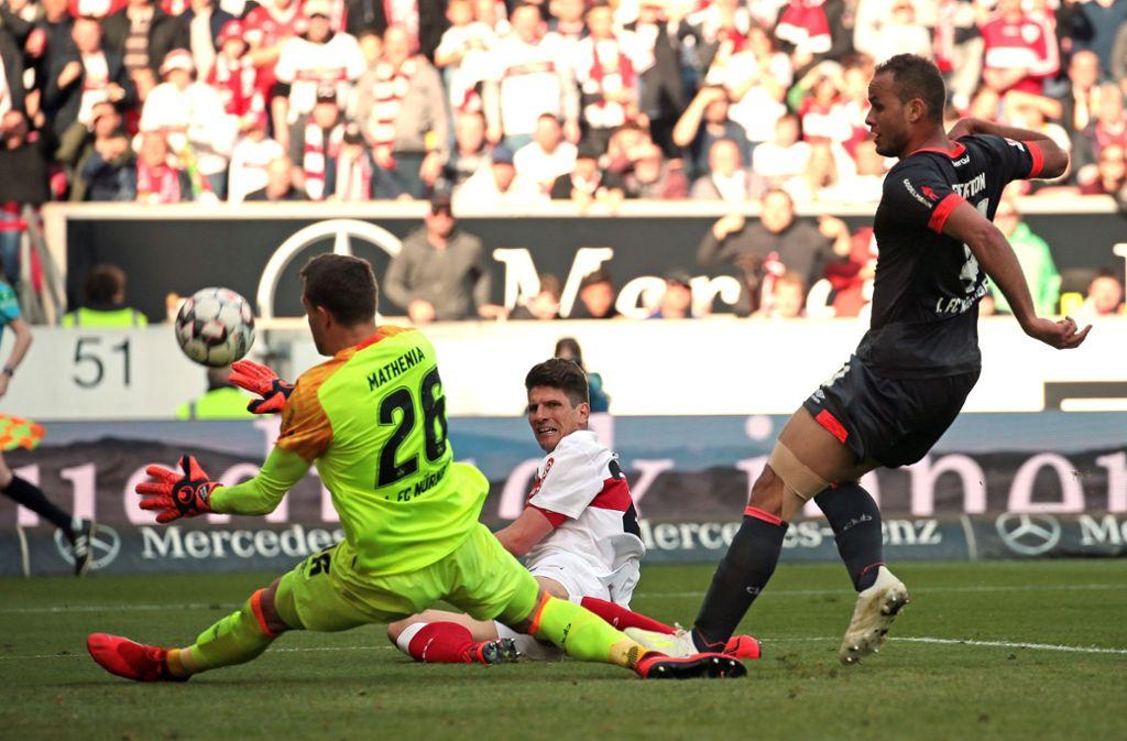Nach dem Spiel gegen Nürnberg bleiben dem VfB noch sechs Ligaspiele. Foto: Baumann