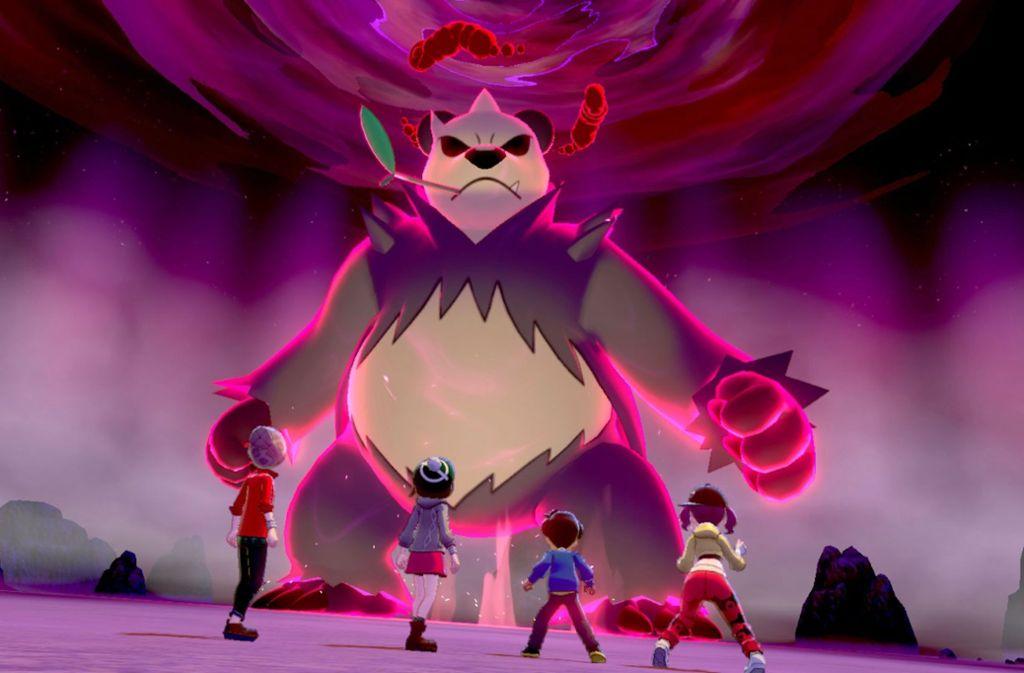 In der Galar-Region gibt es gigantische Pokémon. Foto: Nintendo