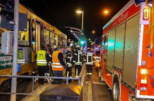 26-Jähriger von Stadtbahn erfasst