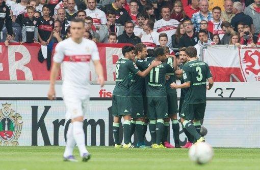 VfB Stuttgart mit zu vielen Aussetzern
