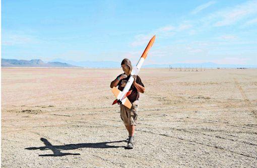 Raketen-Freaks in der Wüste