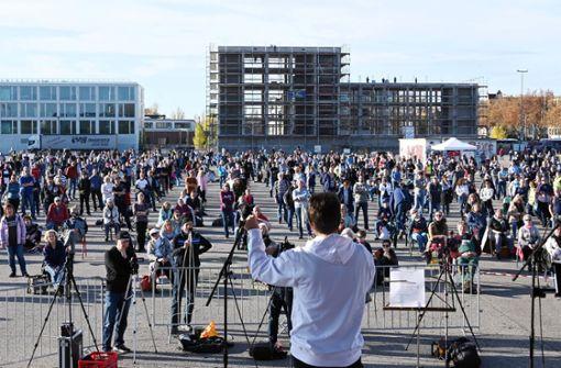 Demos gegen Corona-Maßnahmen in mehreren Städten