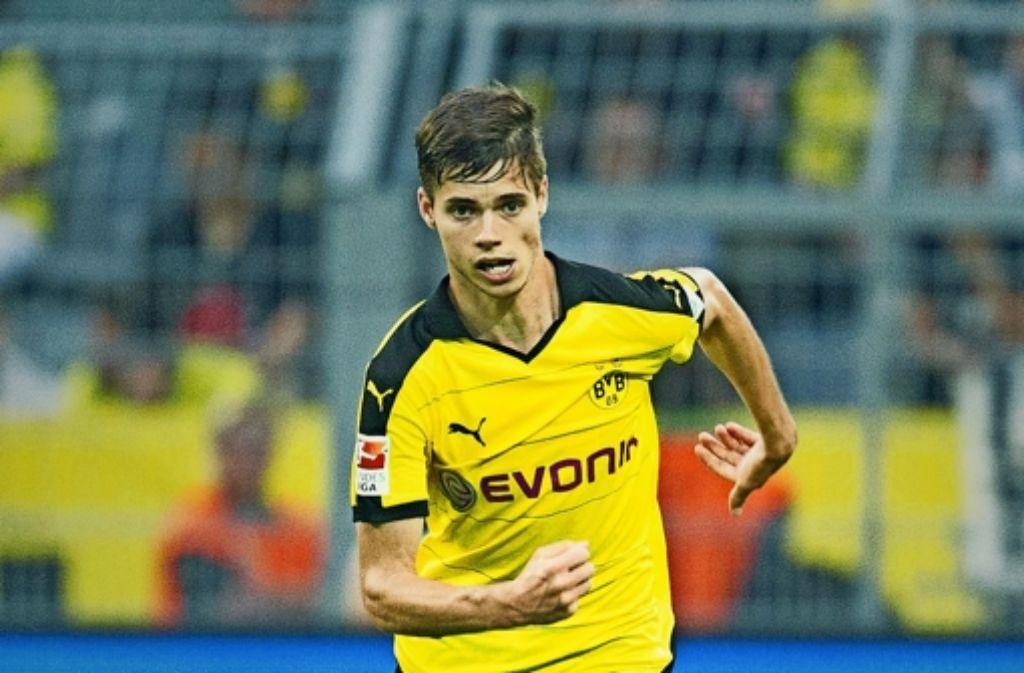 Jung, kraftvoll, dynamisch: Julian Weigl treibt Borussia Dortmund nach vorne. Foto: Getty