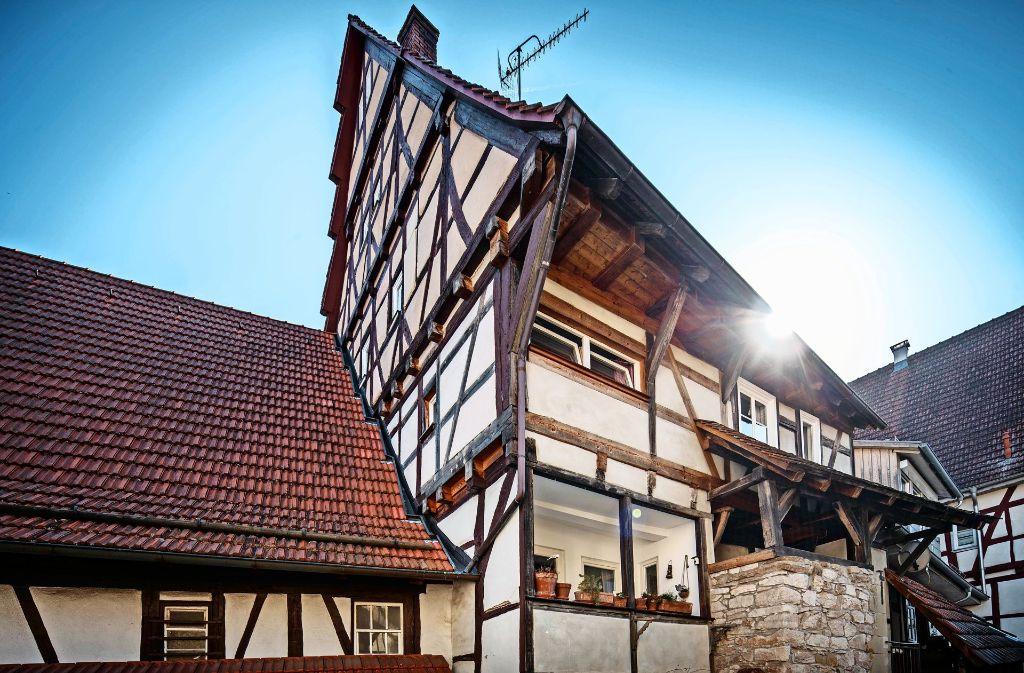 Mitten in Strümpfelbach lag einst wohl eine Pilgerherberge. Foto: Gottfried Stoppel