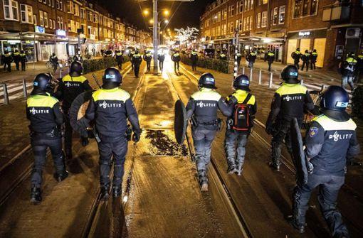 Mehr als 130 Festnahmen in den Niederlanden