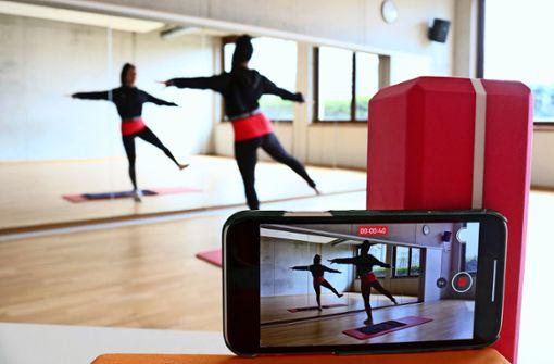 Virtueller Trainer lässt Sportler schwitzen