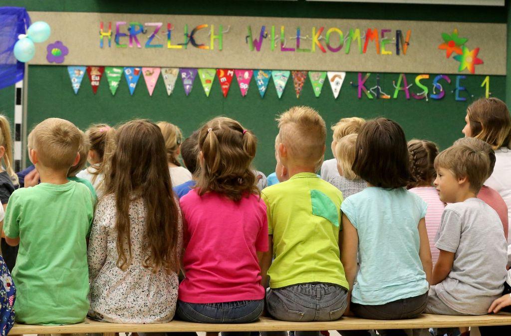 In Fellbach sind die Schülerzahlen an den Grundschulen angestiegen. Foto: dpa
