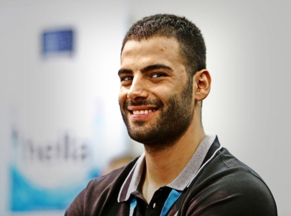 Sajad Esteki verstärkt den Stuttgarter Rückraum. Foto: Bauman