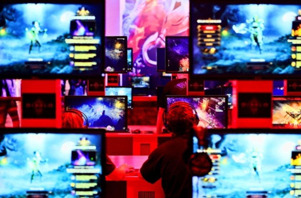 Auf die Gamescom dürfen auch Kinder kommen – bis zehn aber nur in Begleitung der Eltern. Foto: Koelnmesse GmbH