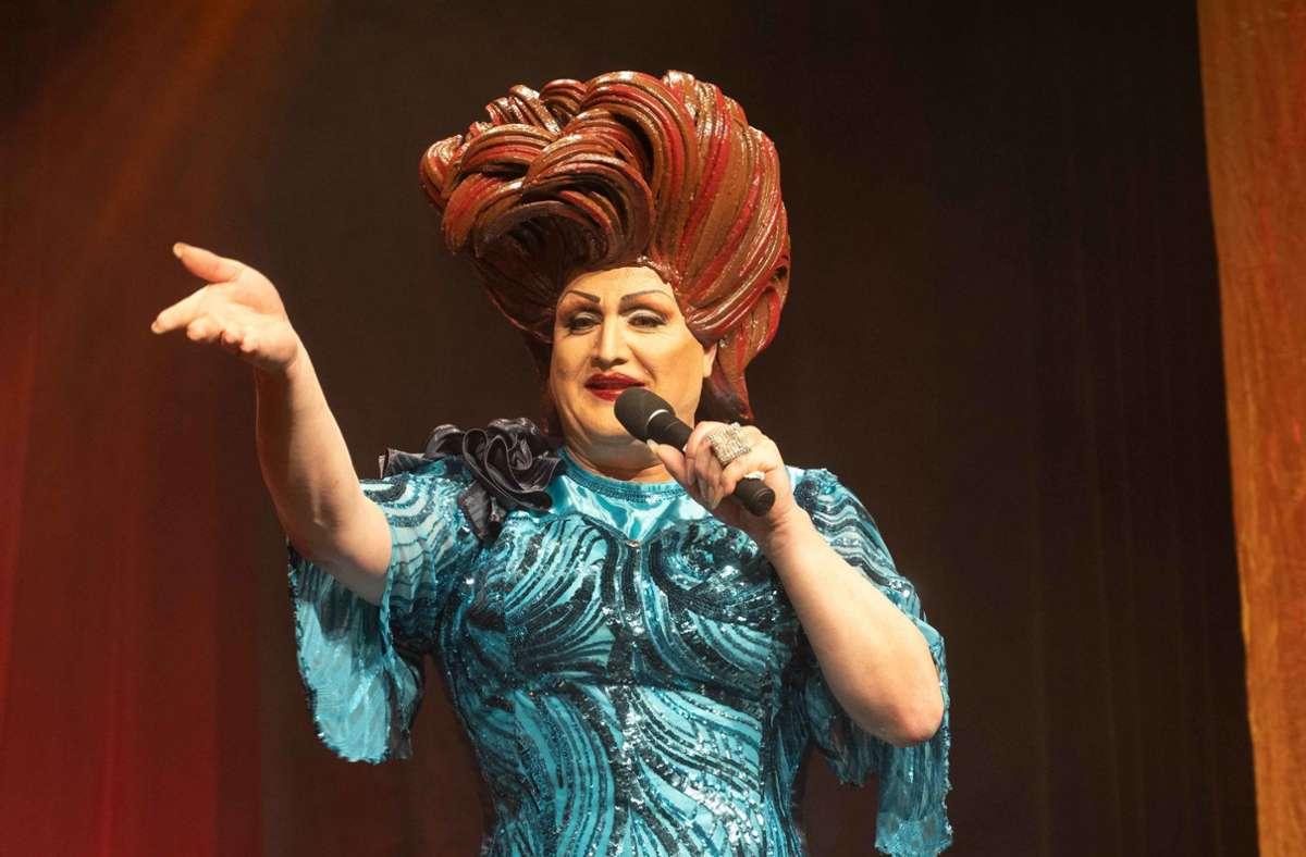 Frl. Wommy Wonder spielt bis zum 13. September im Theater der Altstadt. Foto: Lichtgut/Julia Schramm