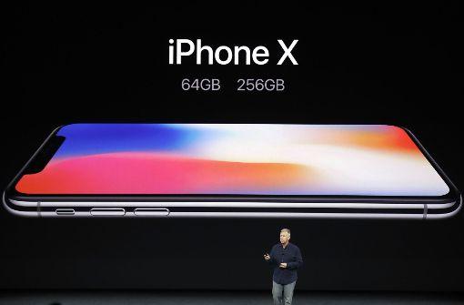 Die ersten iPhone X-Fans sind schon da