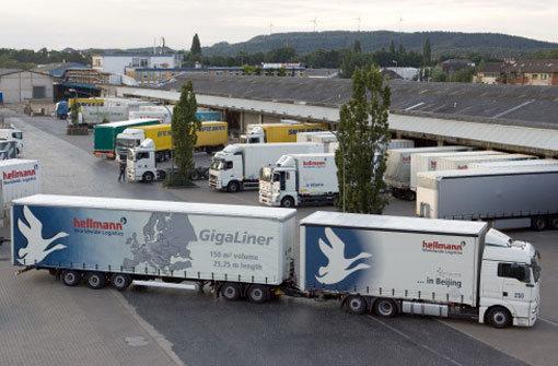 Widerstand gegen lange Lastwagen