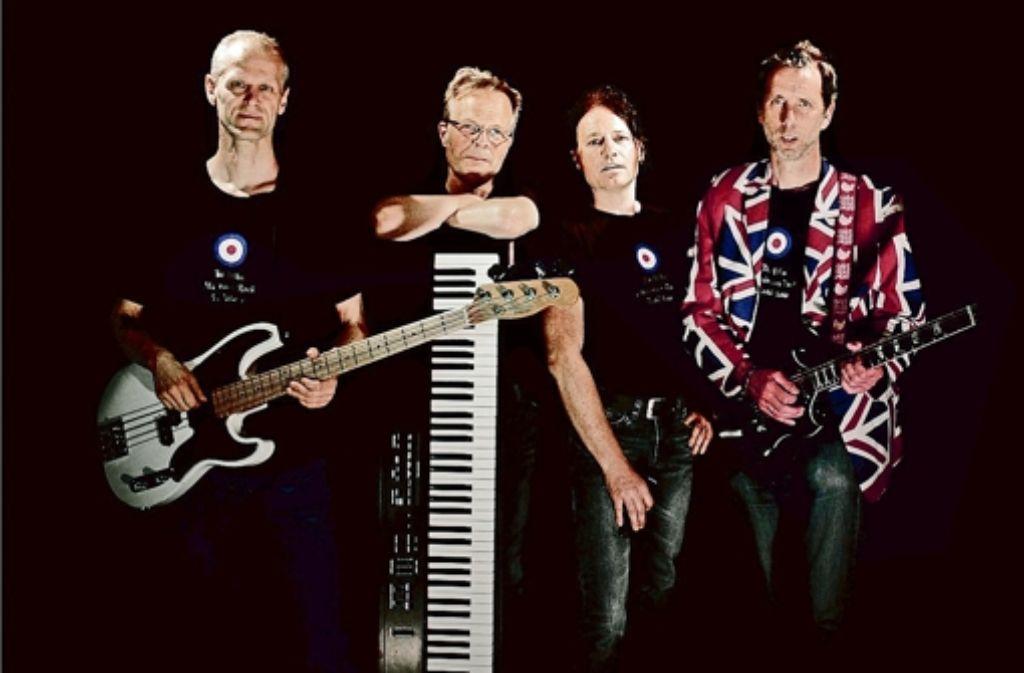 Christoph Geisselhart, Stefan Widmaier, Ralph Heidorn und Fernando Bernhardt (v.l.) lassen Musikgeschichte lebendig werden Foto: Pressefoto