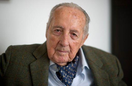 Publizist mit 90 Jahren gestorben