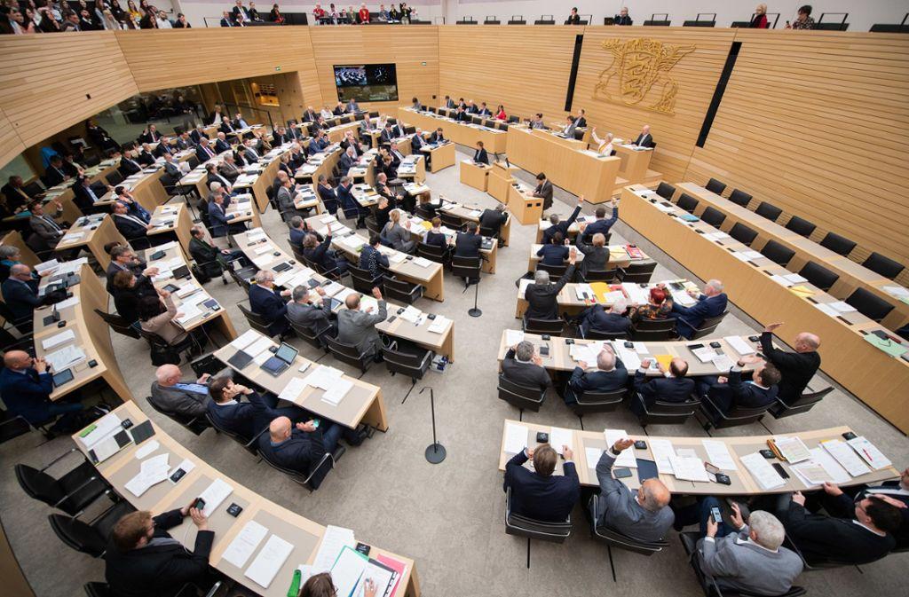 Schon jetzt sind Vorzeichen auf die bevorstehende Landtagswahl im März 2021 zu spüren. Foto: dpa/Tom Weller