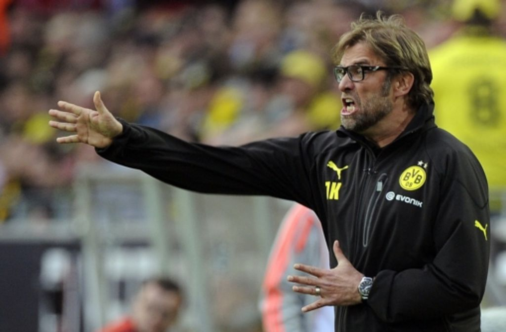 Jürgen Klopp ist einer der zahlreichen Clowns der Bundesliga. Foto: dpa