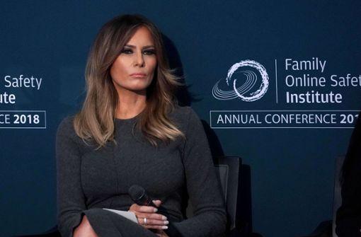 Die First Lady lässt die Muskeln spielen
