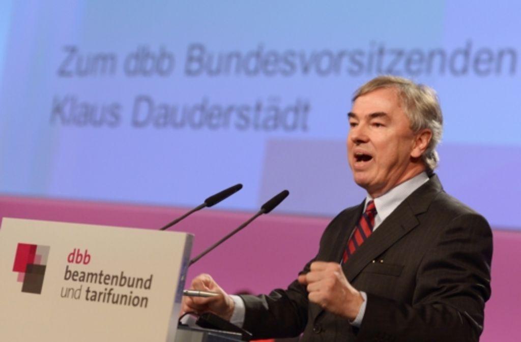 Klaus Dauderstädt Foto: dpa
