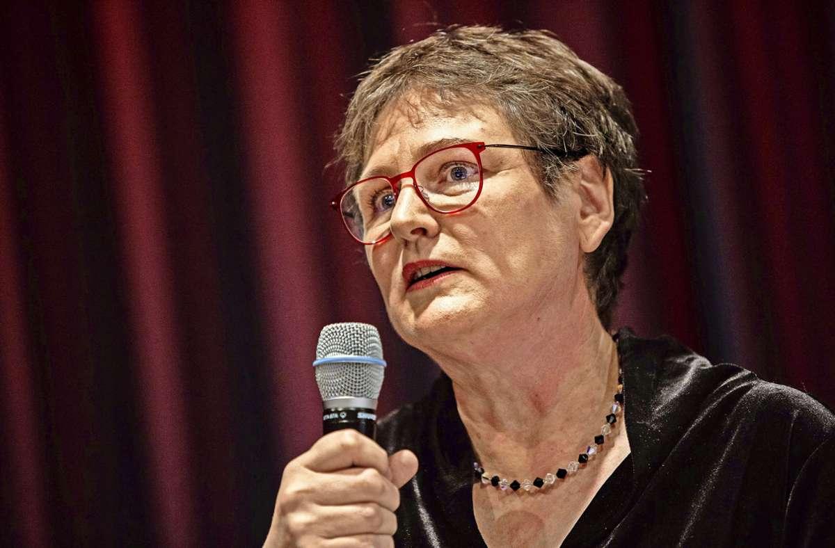 Leni Breymaier hat durch Interviewäußerungen die Rotlichtbranche gegen sich aufgebracht. Foto: Michael Steinert/Michael Steinert