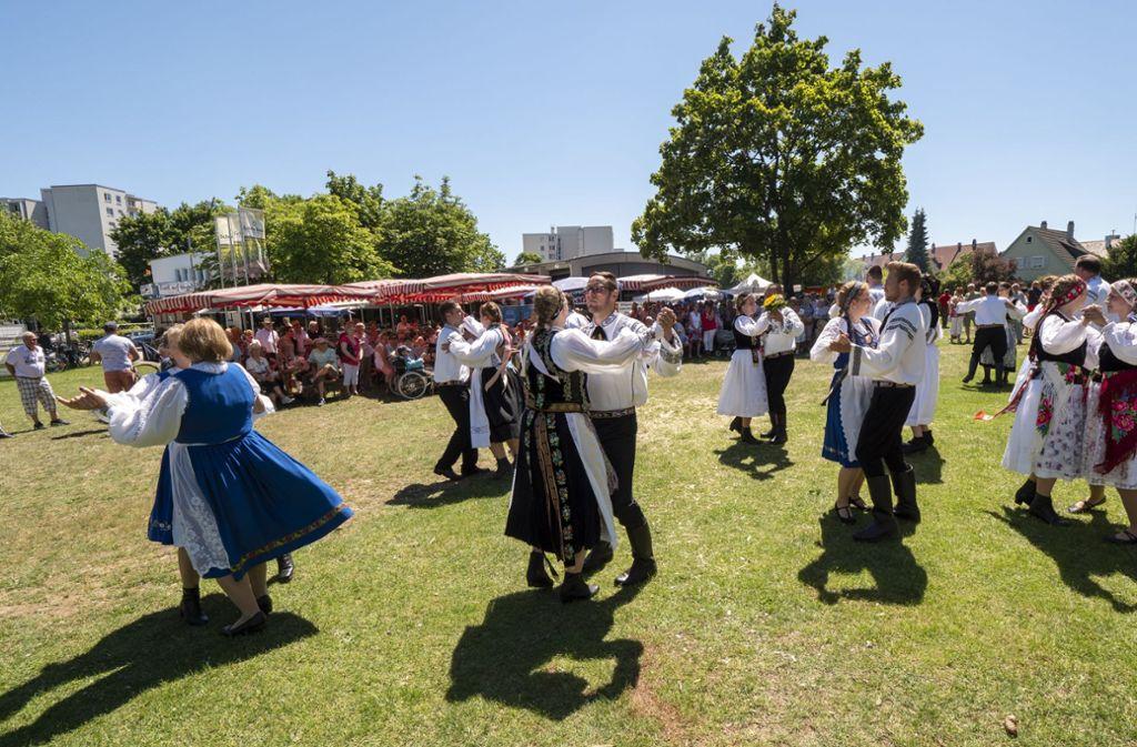Der Tanz zählt ebenfalls stets zur Pflege des Brauchtums. Foto: factum/Weise