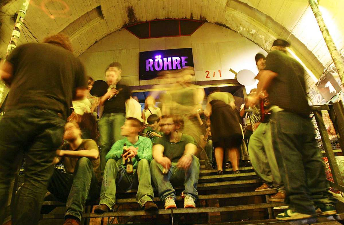 Die Röhre war eine der wichtigsten Live-Bühnen von Stuttgart. Foto: dpa/Marijan Murat (2), Archiv